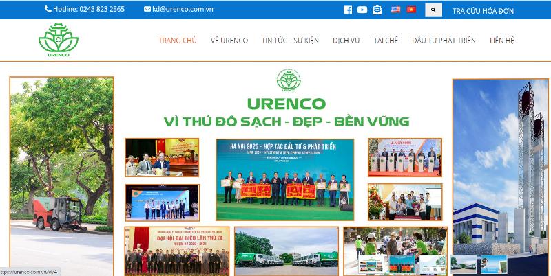 Urenco sắp triển khai thu giá dịch vụ vệ sinh môi trường qua đơn vị trung gian